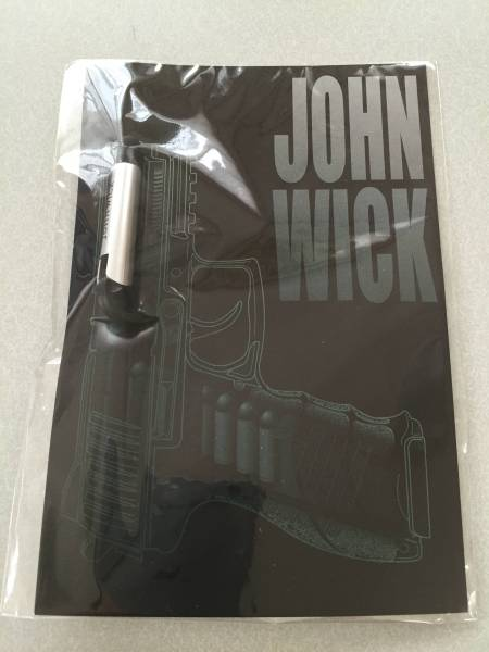映画 ジョン・ウィック 前売り特典 弾丸スマホスタンド