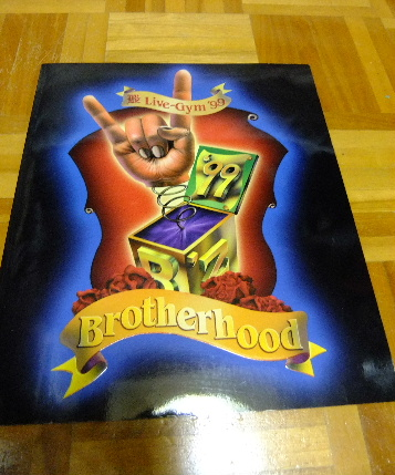 B'z LIVE GYM99 Brotherhood パンフレット
