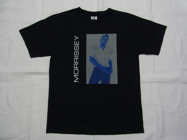 ☆美品☆ MORRISSEY モリッシー 全米ツアー Tシャツ ☆USA古着 80s 90s ロック バンド The Smiths ザ・スミス ジョニー・マー