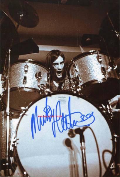 Mick Fleetwood ミック・フリートウッド サイン フォト