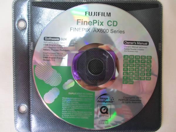 ★フジフィルムFUJIFILM FinePix CD FINEPIX AX600 Series