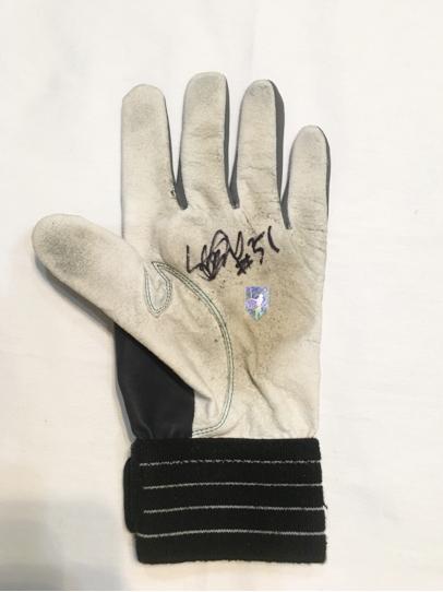 マリナーズ 最終年 イチロー 実使用守備手袋 直筆サイン#51 グッズの画像