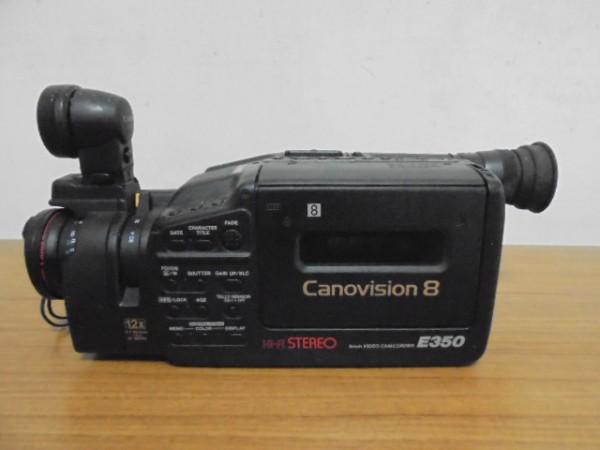 CANON/キャノン 8mm ビデオカメラ Canovision8 E350_画像2