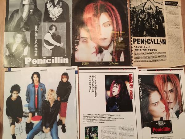★PENICILLIN★切り抜き★
