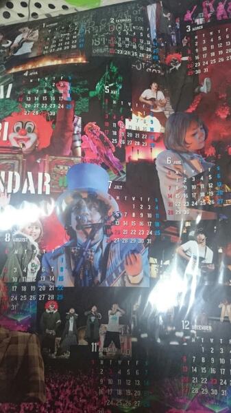 SEKAI NO OWARI セカオワ カレンダー 2015