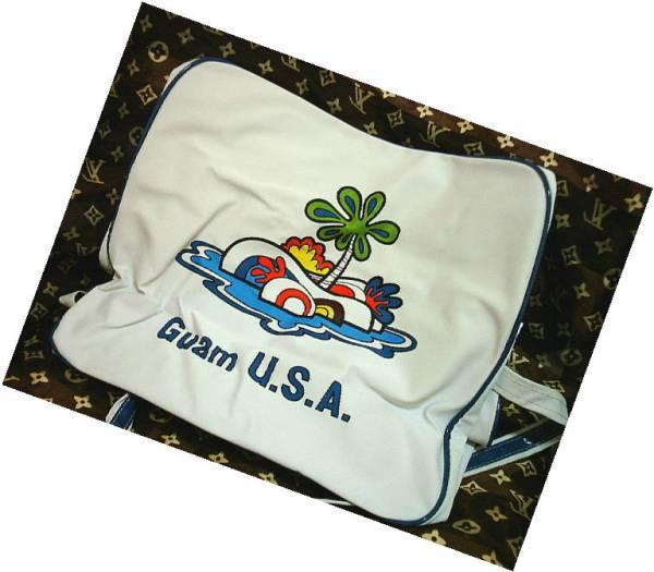 ◆ビンテージ 旅行バッグ ピーターマックス 風 GUAM USA_画像2