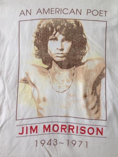 レア the doors jim morrison Tシャツ