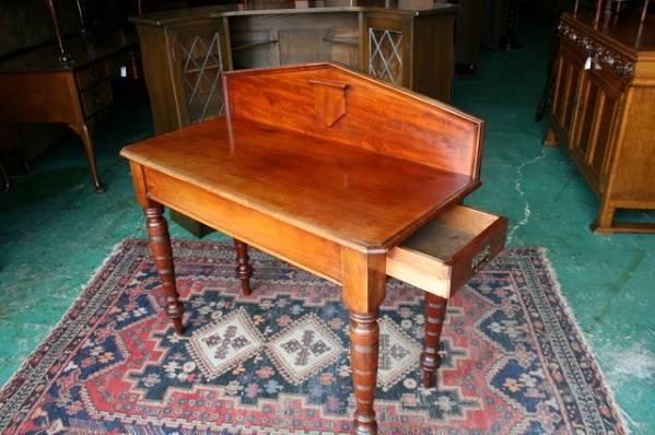 イギリスアンティーク家具 デスク アンティークデスク ビクトリアン/デスク 机 テーブル 英国製 s33a_画像3