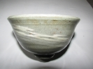 (旧家・蔵出し)(古唐津焼・白釉刷毛目茶碗)貴重珍品