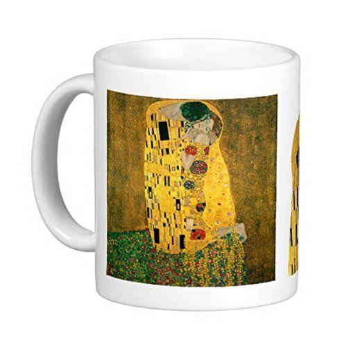 クリムトの『 接吻 』 のマグカップ 3_画像1