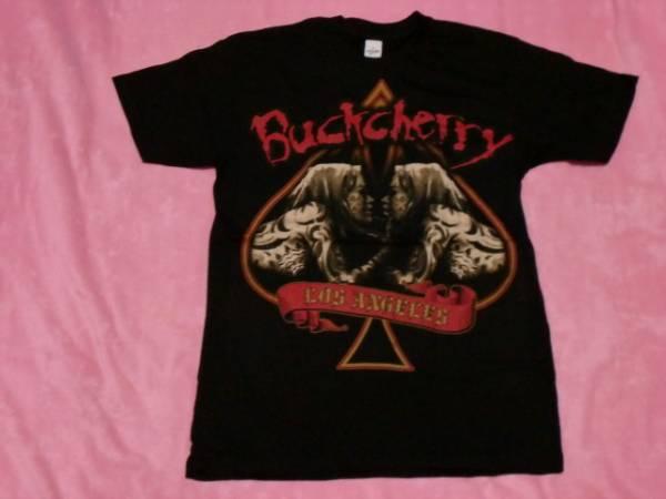 BUCKCHERRY バックチェリー Tシャツ ロックT S バンドT ツアーT