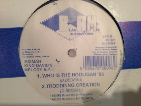 ■Mixman/King Davids Melody■KILLER UK DIGI DUB!_画像2
