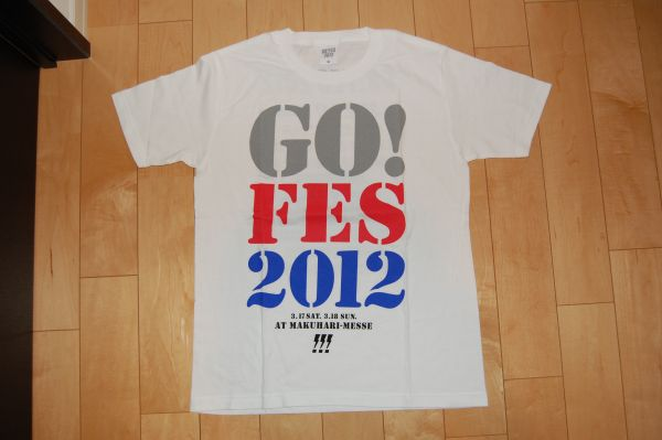 ★☆GO!FES 2012 限定Tシャツ 世界の終わり☆★