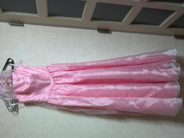 DressBlack パニエワイヤーつき9号♪ステージドレス♪ウエディングドレス♪美品