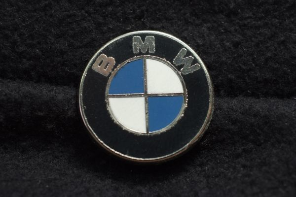□ BMW llIlピンバッジ エンブレム20mm d moto_画像2