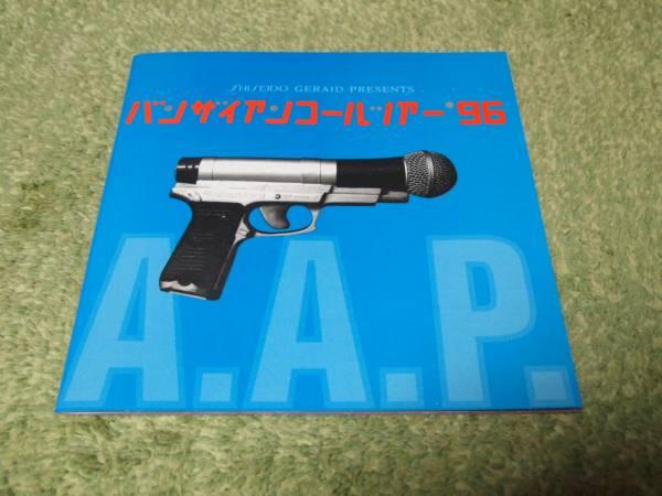 ◆ウルフルズ 1996年 ライブツアーパンフレット◆