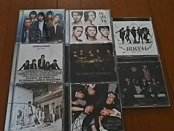 KAT-TUN CD DVD 8点セット 亀梨和也 上田竜也 中丸雄一