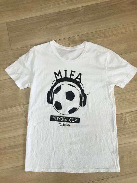 レア★MIFA ミファ Tシャツ Mサイズ MIFA CUP 限定 ウカスカジー Mr.Children ミスチル