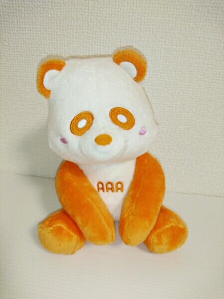 新品★AAA 西島隆弘★おすわりえ~パンダ 橙