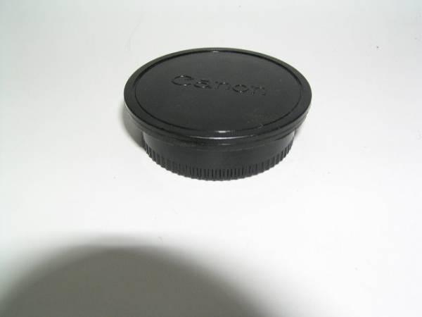 キャノンFD用 リヤキャップ+ボデーキャップ