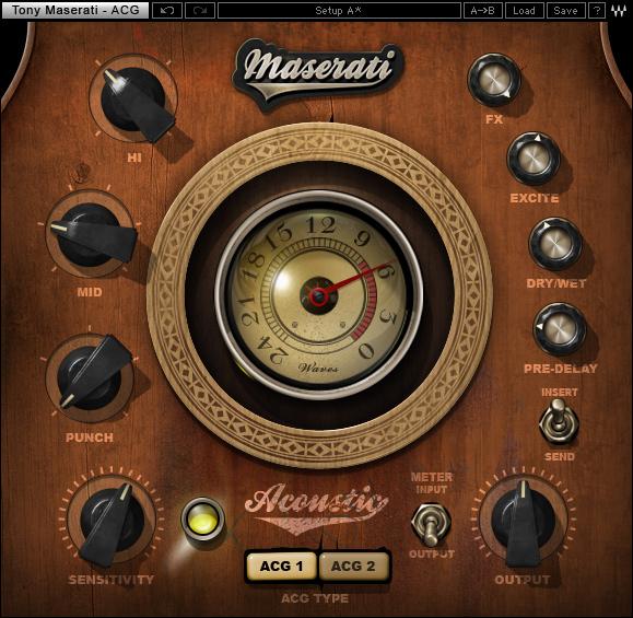 WAVES 正規新品◆ Tony Maserati Collection◆[AU VST AAX Mac Windows Cubase pro logic Protoolsなど対応]_画像2