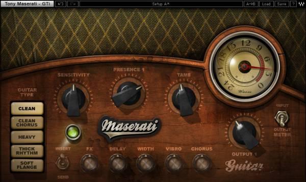 WAVES 正規新品◆ Tony Maserati Collection◆[AU VST AAX Mac Windows Cubase pro logic Protoolsなど対応]_画像3
