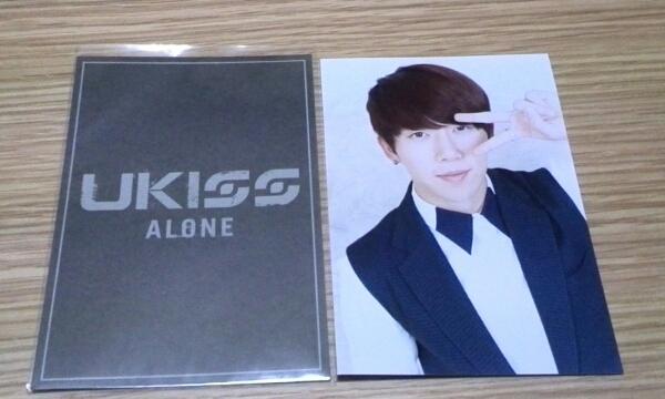 U-KISS「ALONE」TSUTAYA特典写真(フン) ライブグッズの画像