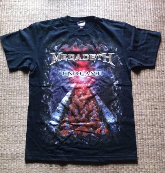 Megadeth 2009年 Endgameツアー 来日記念Tシャツ M 送料無料