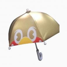 即決◆ヤクルトスワローズ◆つば九郎ミニチュア傘/ゴールド/優勝 グッズの画像