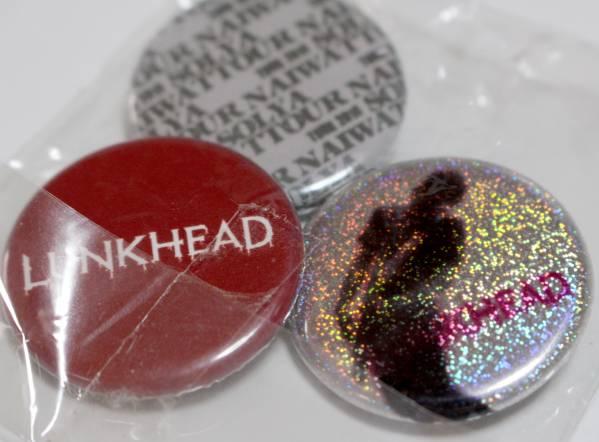 LUNKHEAD ランクヘッド 缶バッジ3個セット