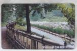 【テレカ】埼玉県 狭山 智光山公園 花菖蒲園 50度▽NO-J623