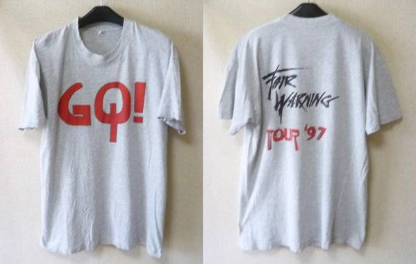 ★即決★【Fair Warning】Go! TOUR 97 T シャツ