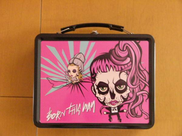 Lady Gaga/Born This Way メタルケース、パス、バック