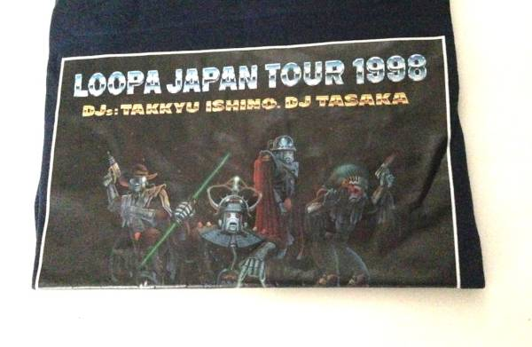 Loopaジャパンツアー1998 Tシャツ希少 石野卓球TASAKA