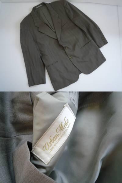 【お得!!】★Urban Male★ スーツ上下セット グレー系 ABM_画像2