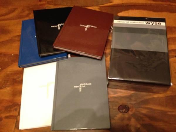 wyse memorial photobook メモリアル写真集 函入り5冊組