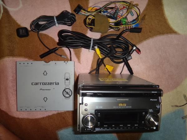 送料無料HDDサイバーナビ AV一体MD・DVD再生モデル AVIC-ZH900MD_必要最小限の付属品にて直ぐに使えます!
