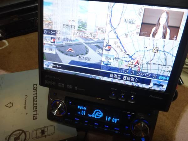 送料無料HDDサイバーナビ AV一体MD・DVD再生モデル AVIC-ZH900MD_ツインビュー、PinP、ネズミマークで快適!