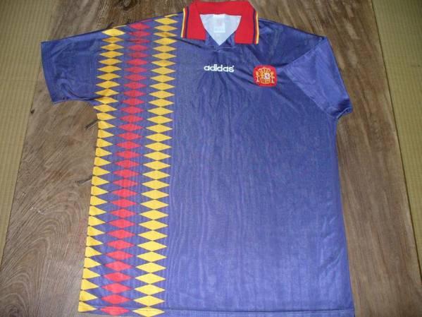 ☆値下交渉 1994~95年 スペイン代表 adidas 3rd☆ 検)レアル バルセロナ アトレティコ