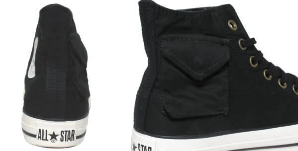 ■CONVERSE ALL STAR M-65 HI ブラック 新品 27.5cm コンバース オールスター ミリタリー 黒_画像3
