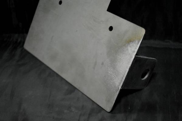 グラストラッカー サイドナンバーKIT 横マウント タイガーテール_画像3