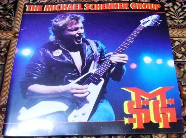 マイケル・シェンカー・グループ 1983年ツアーパンフ★M.S.G.