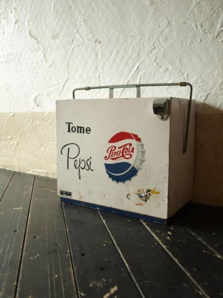 50'S/Tome Pepsi-Cola/ペプシ/ヴィンテージクーラーボックス_画像1