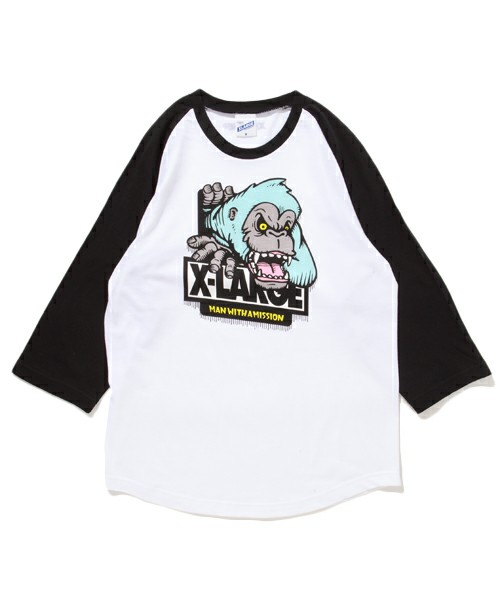MAN WITH A MISSION TOUR限定 XLARGE ゴリラBBTシャツ S/X-LARGE