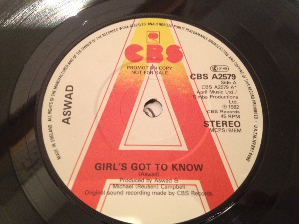 ■Aswad/Girls Got To Know■KILLER UK ROOTS!_画像2