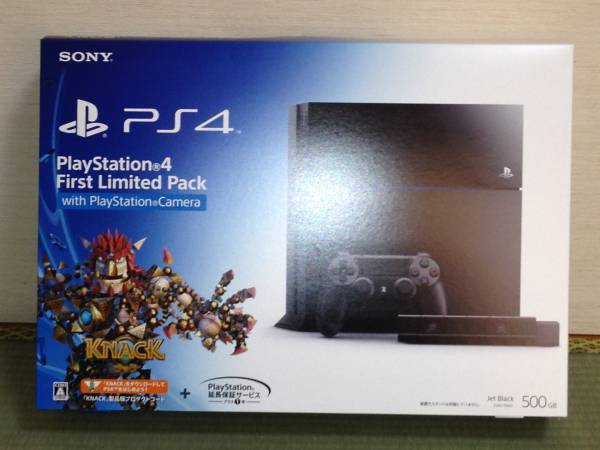 新品未開封 PS4 PlayStation4 First Limited Pack with Camera