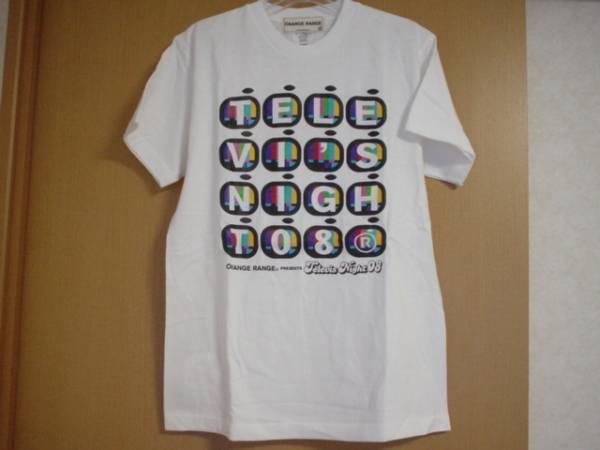 切手OK☆オレンジレンジ Tシャツ☆Televi's Night 08