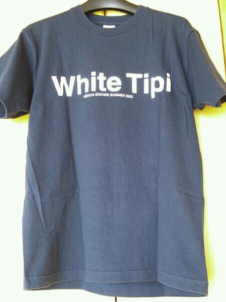 White Tipi(曽我部恵一)Tシャツ!【サイズM】