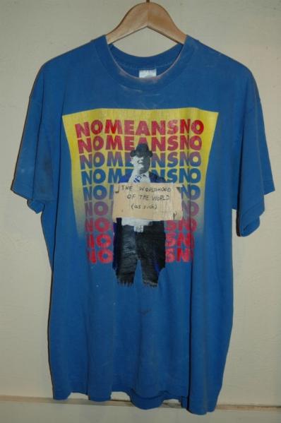 ユーズド 90年代 NOMEANSNO Tシャツ