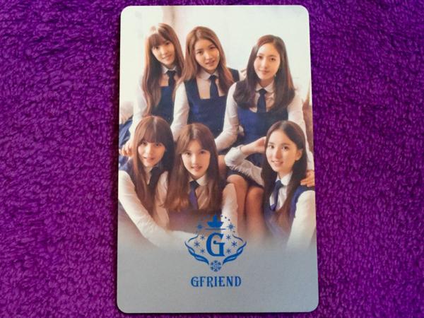 ラスト●韓国旅行●T-money交通カード●ヨジャチング GFRIEND ②送料62円~